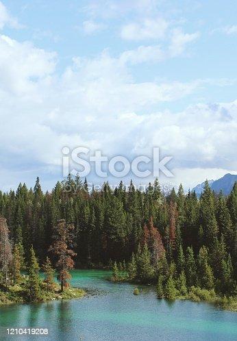820775686 istock photo Mountain lake 1210419208