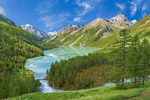 Cтоковое фото Горы Озеро