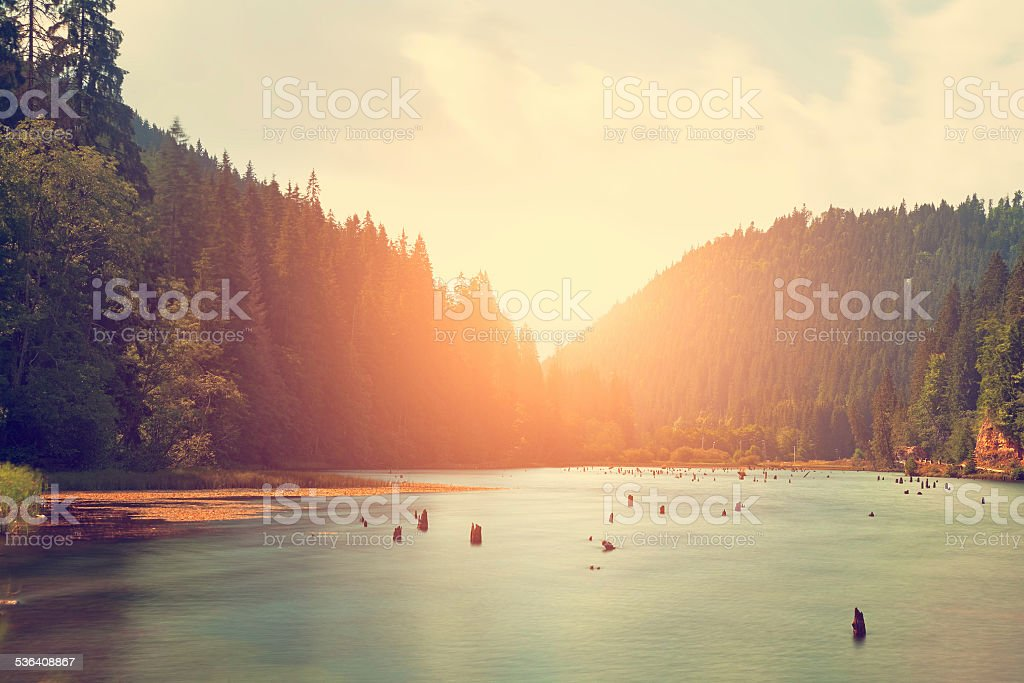 Mountain lake – Foto