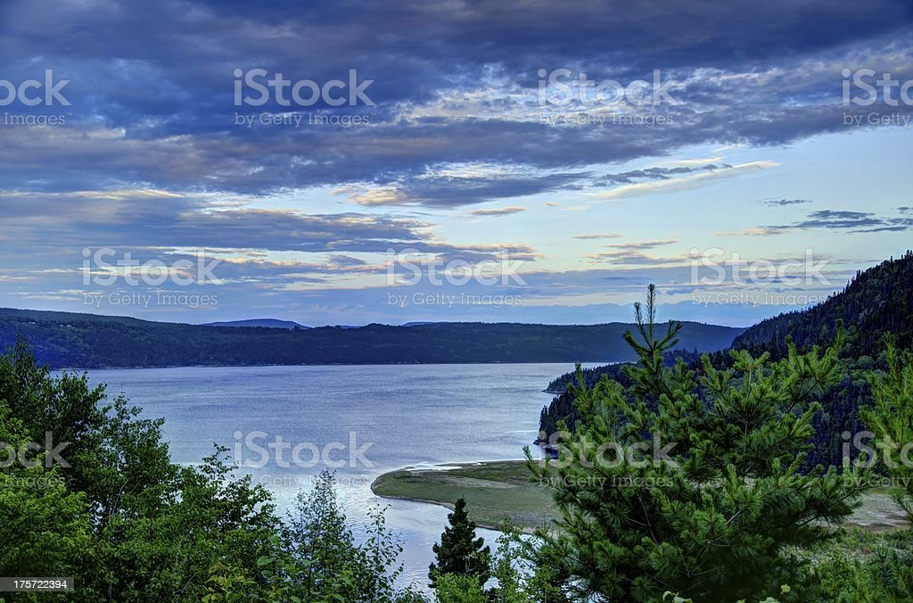 HDR, Mountain, Landscape, Canada, Lake, Dramatic Sky, Nature, Fjord, Shadow stock photo