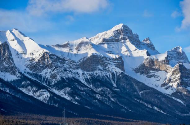 Mountain Landscape Canada stock photo