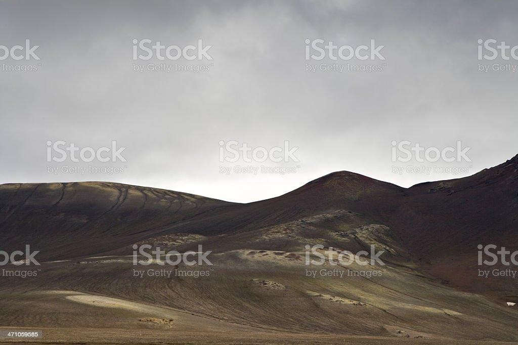Mountain Landscape Iceland royalty-free stock photo