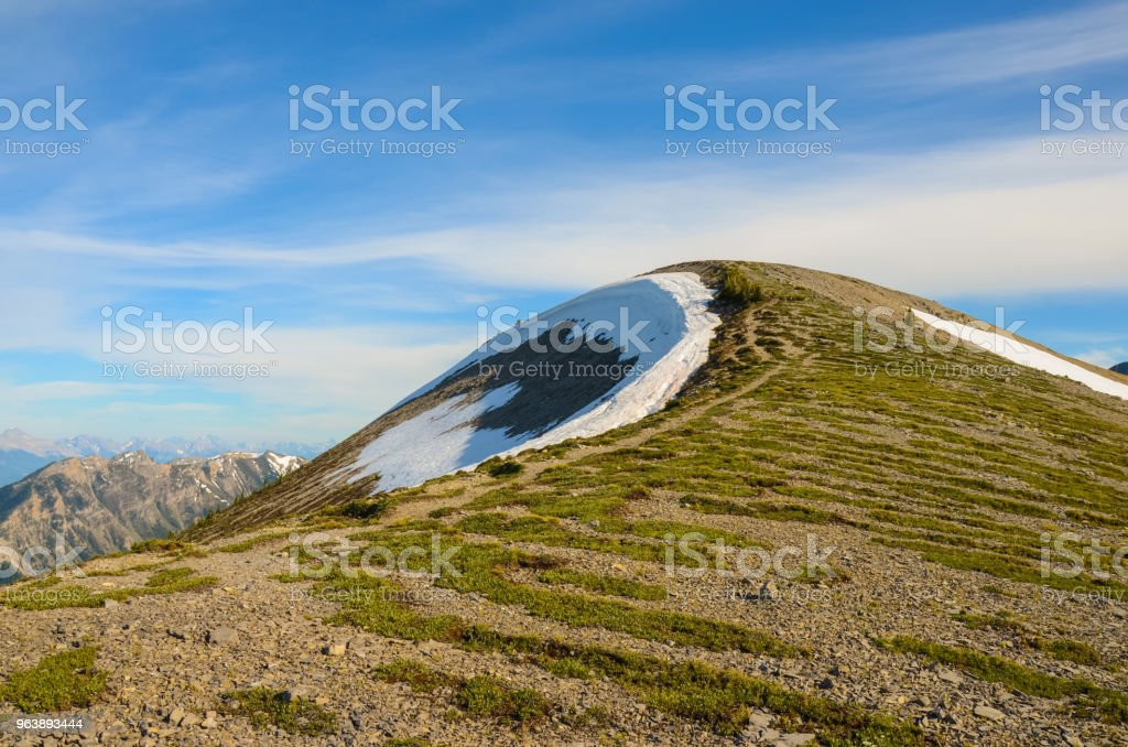 Mountain Landscape in Spring - Royalty-free British Columbia Stock Photo