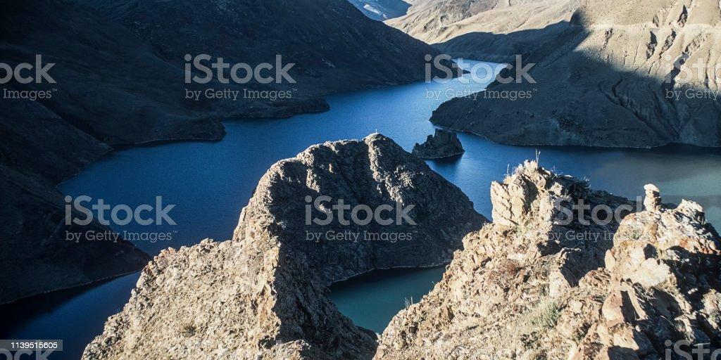 Berglandschaft in Tibet – Foto