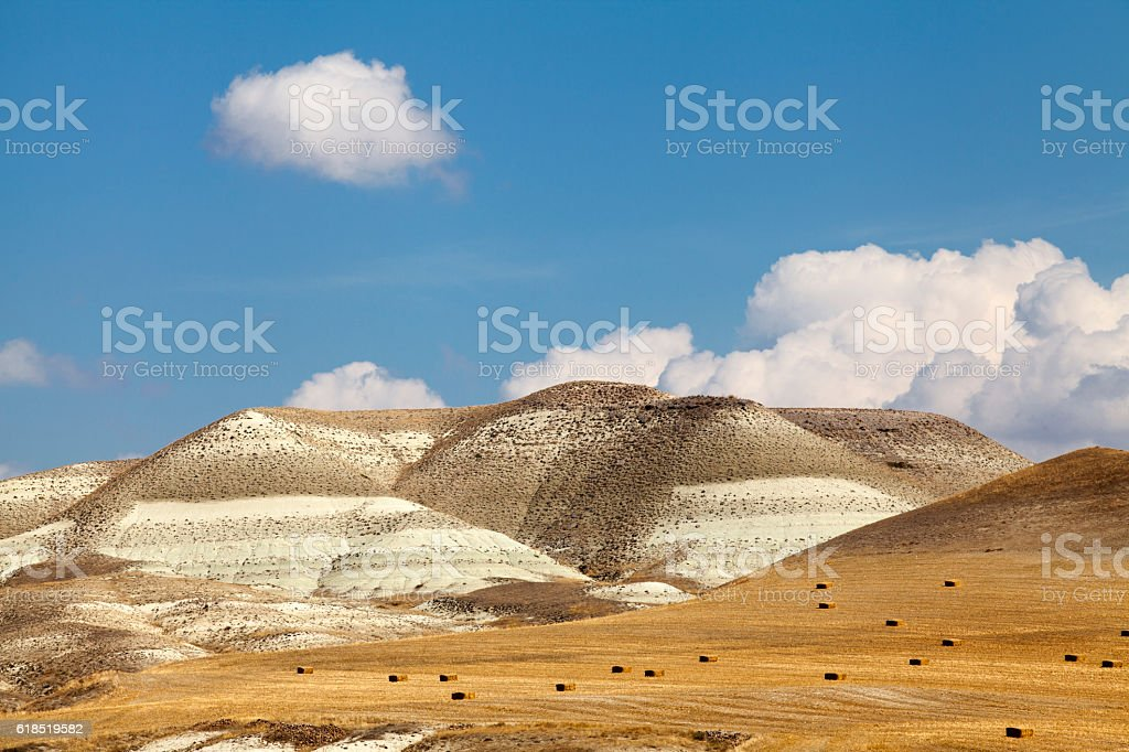 Mountain landscape in Turkey. stock photo