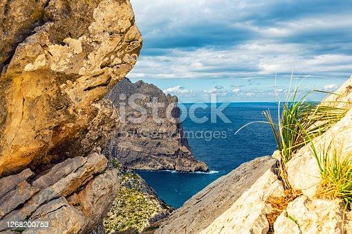 istock Mountain landscape, Mallorca, Spain 1268200753
