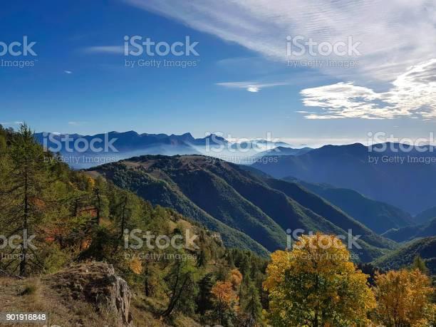 Mountain Landscape Mercatour National Park France Stock Photo - Download Image Now