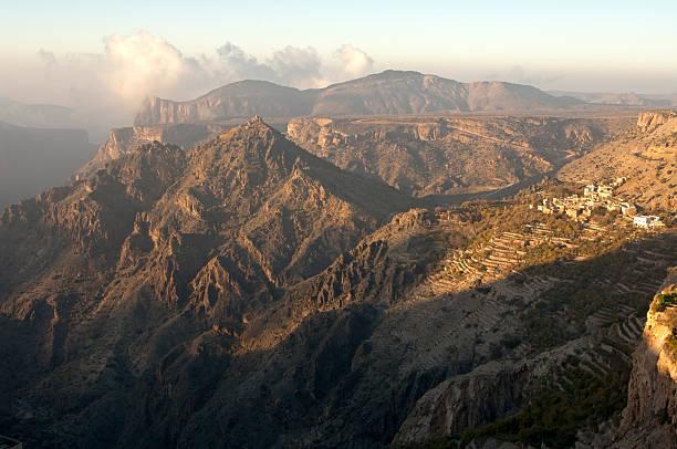 Mountain Landschaft der Sayq plateau – Foto