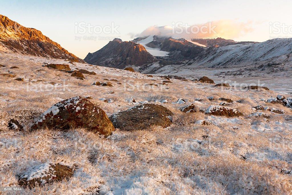 Mountain landscape of Tien Shan. foto de stock royalty-free