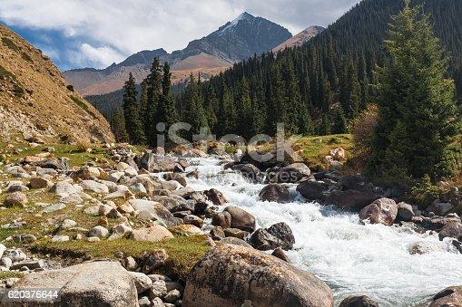 Mountain Landscape Of Tien Shan - Stockowe zdjęcia i więcej obrazów Azja