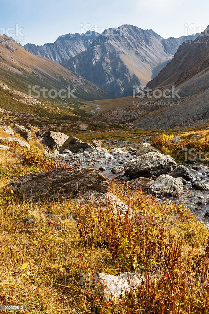 Mountain landscape of Tien Shan. foto de stock royalty-free