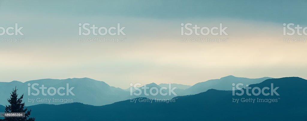 Mountain Landscape Panoramic stock photo
