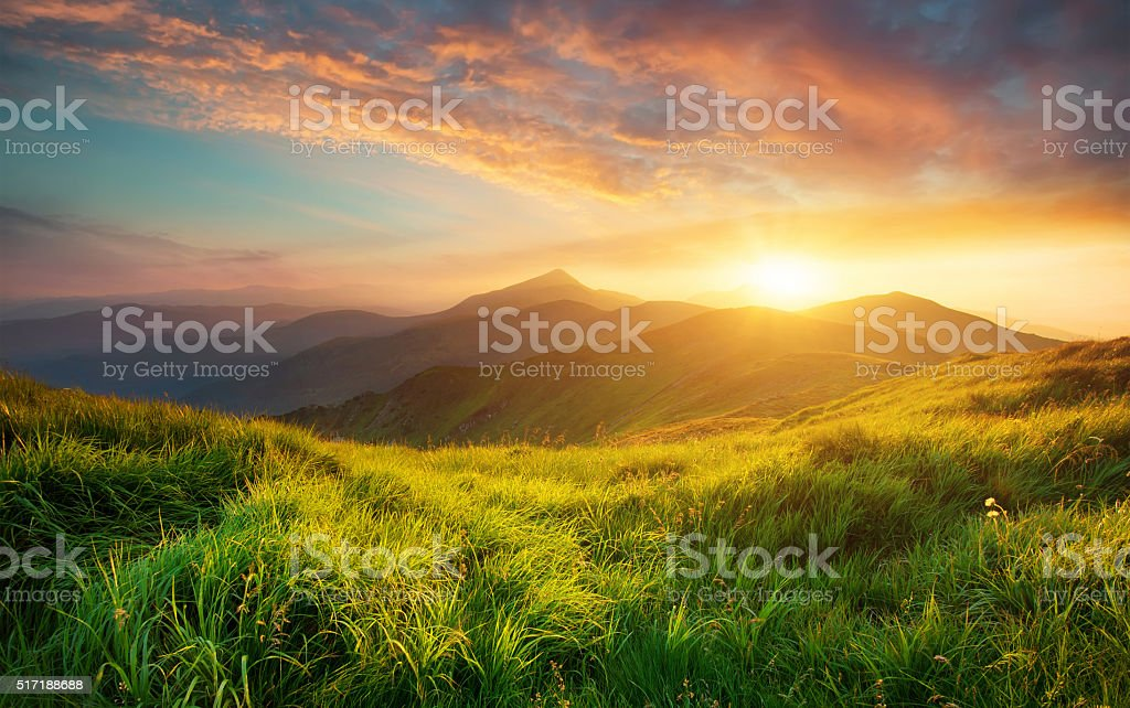 Mountain landscape​​​ foto