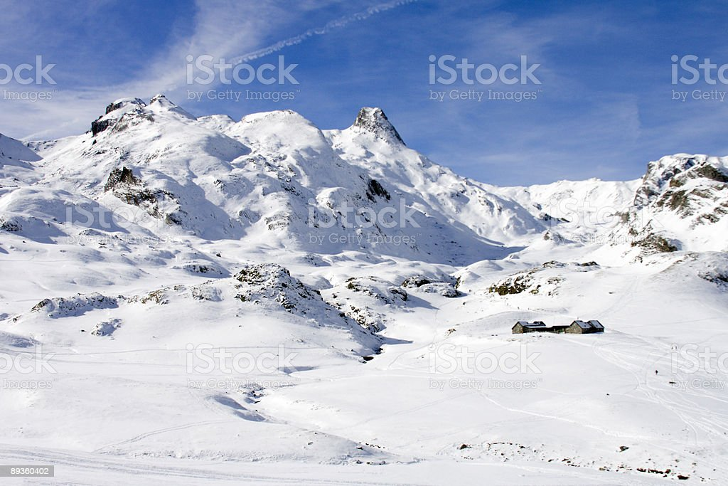 Mountain landscape royalty free stockfoto