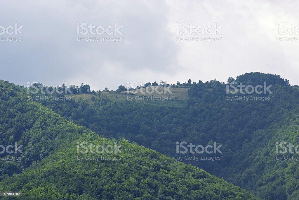 Mountain landscape royalty-free stock photo