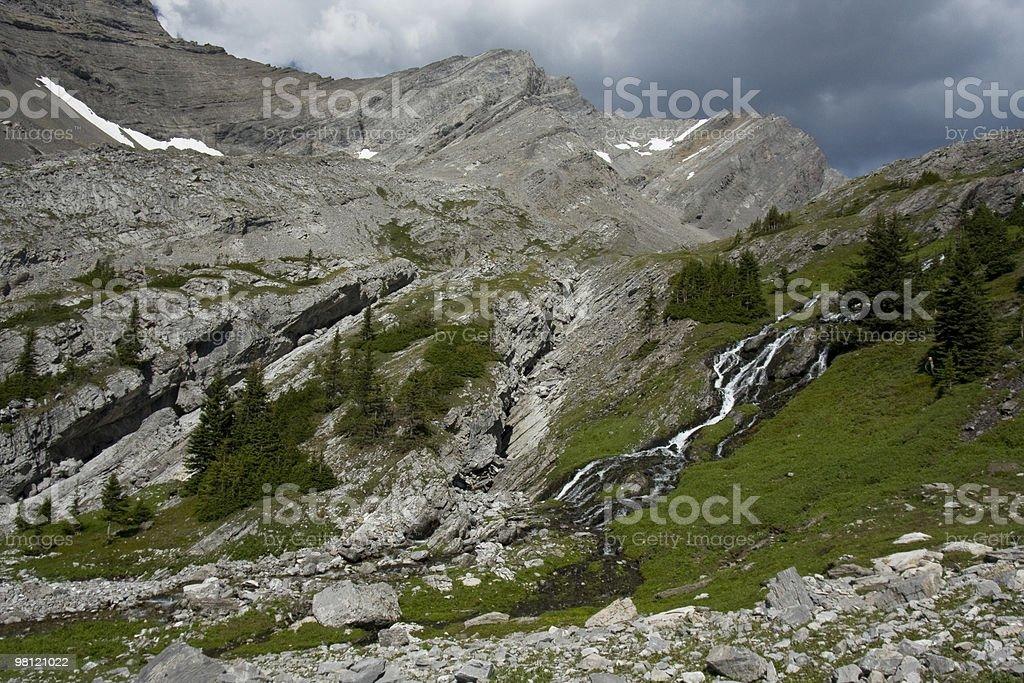 산 풍경 royalty-free 스톡 사진
