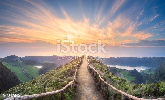 istock Mountain landscape Ponta Delgada island, Azores 944812540