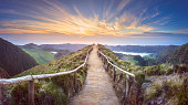 istock Mountain landscape Ponta Delgada island, Azores 950861312