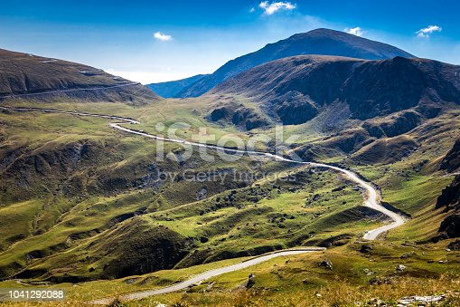 istock Mountain Landscape with Winding Road 1041292088