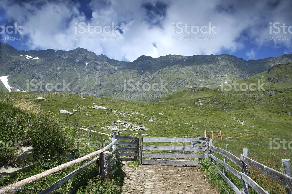 Mountain Landscapes royalty-free stock photo