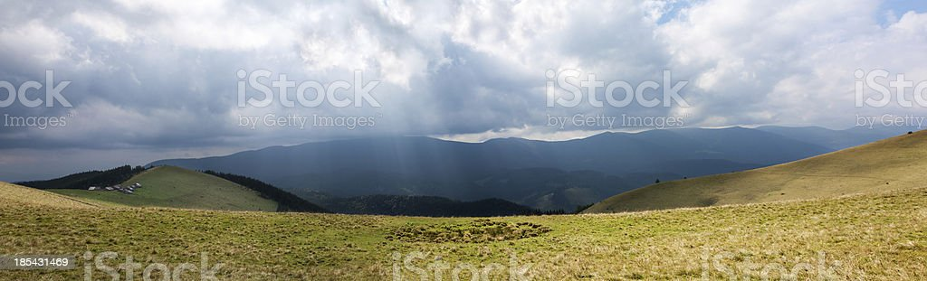 mountain lawn royalty-free stock photo