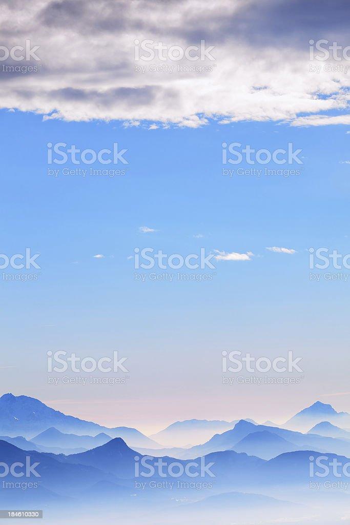 Mountain Layers stock photo