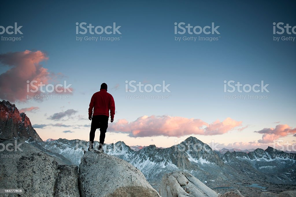 mountain light royalty-free stock photo