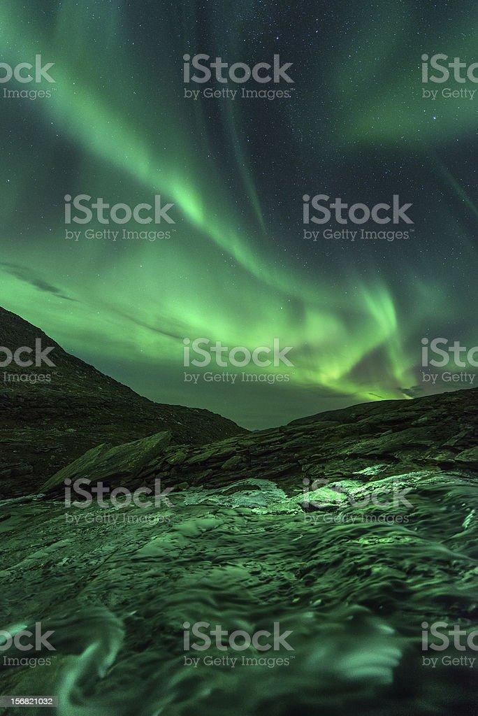 Mountain Lightshow royalty-free stock photo