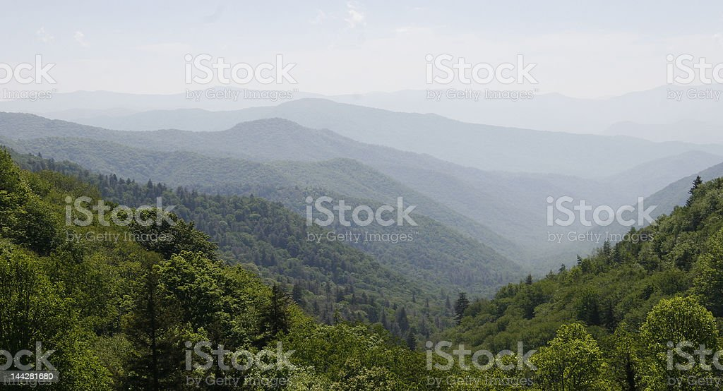 Mountain Line royalty-free stock photo