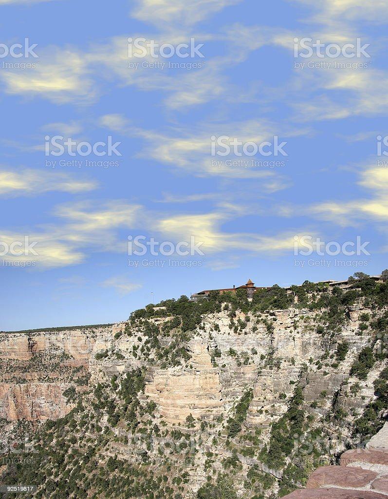 Mountain Lodge royalty-free stock photo