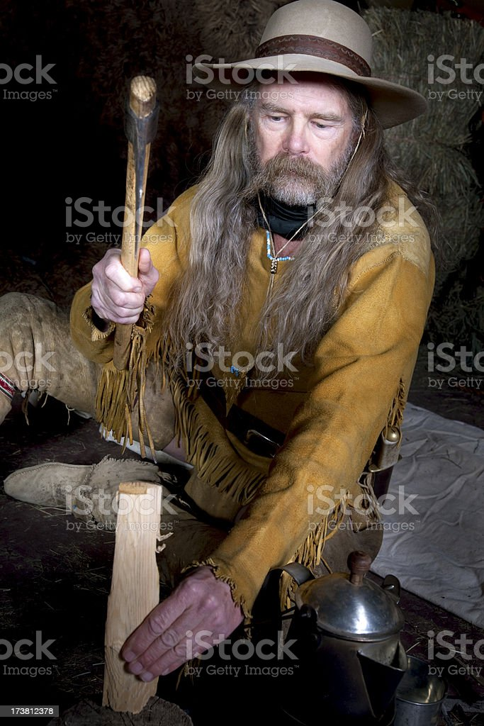 Mountain Man royalty-free stock photo