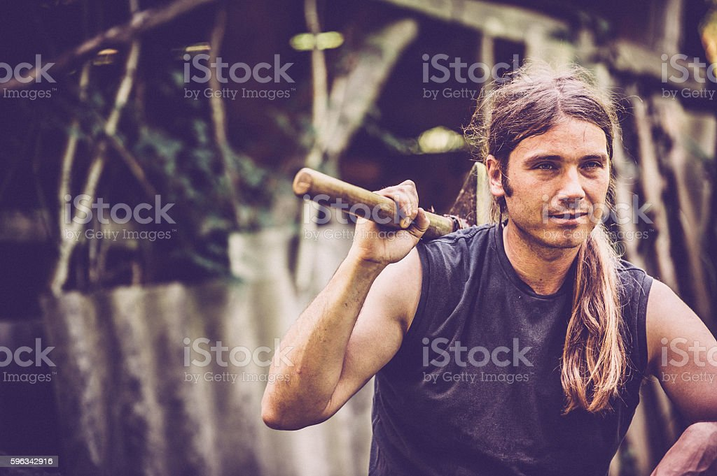 Mountain Man Lizenzfreies stock-foto