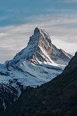 Idyllic landscape of Mountain Matterhorn in Swiss