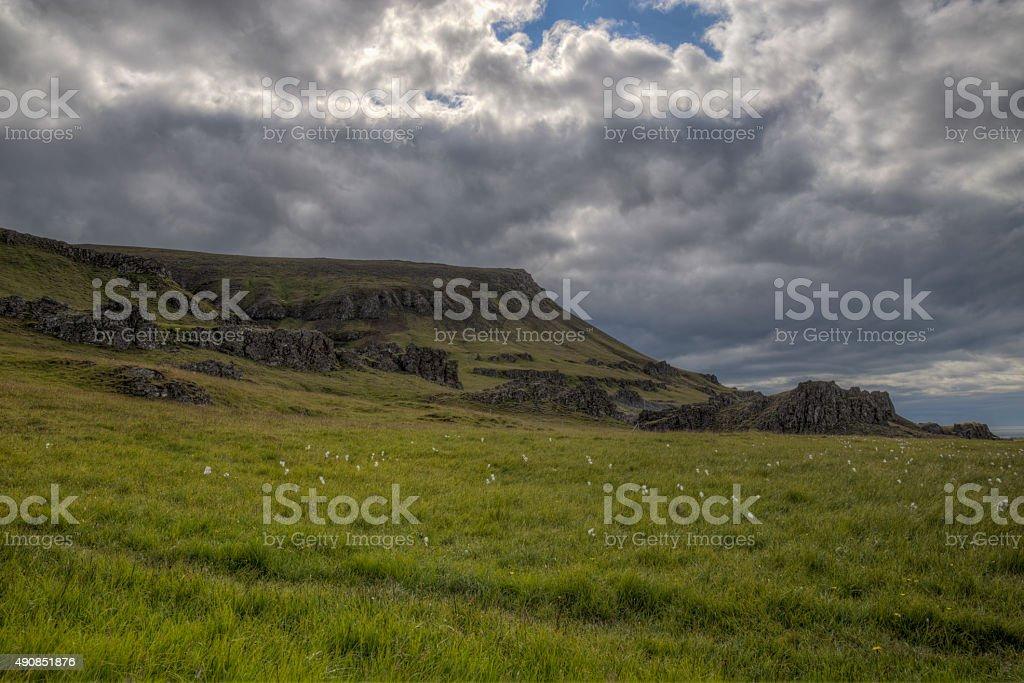 Mountain Wiese und storm – Foto