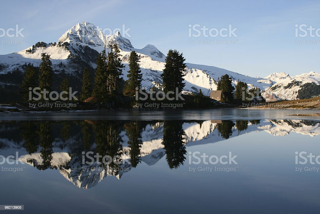 Mountain Mirror royalty-free stock photo