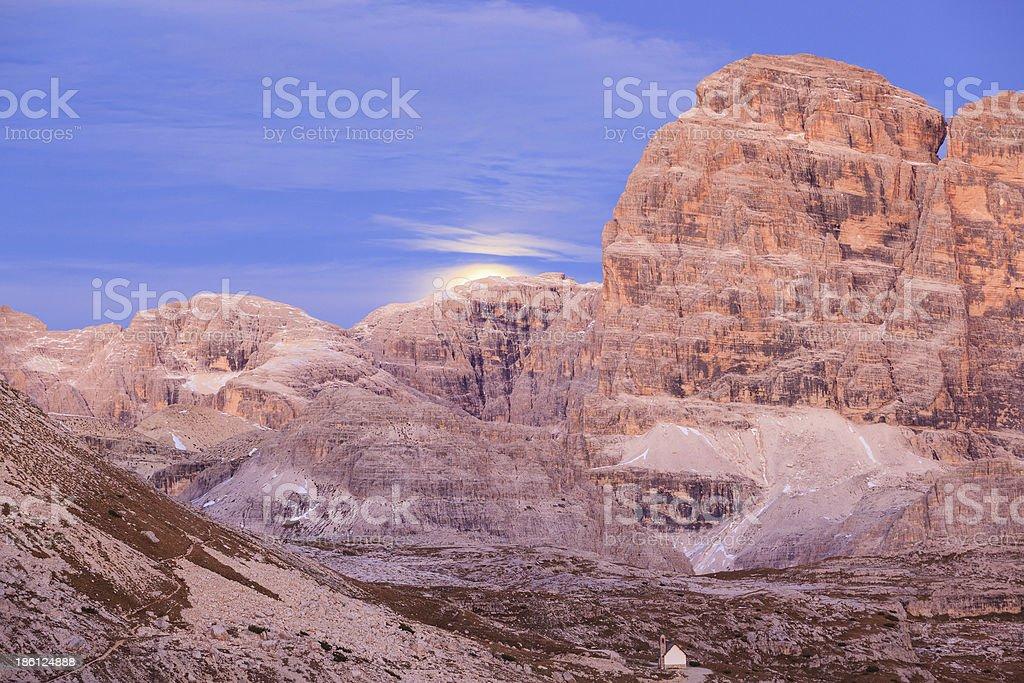 Mountain moonrice royalty-free stock photo