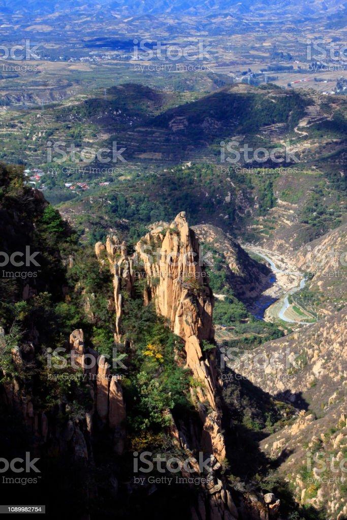 Natürliche Berglandschaft – Foto