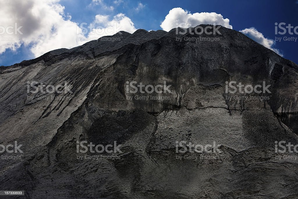 Mountain of coal - Royalty-free Berg Stockfoto
