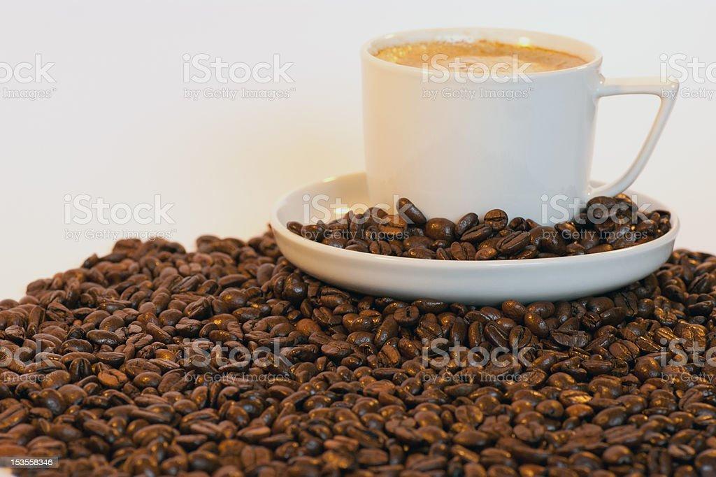 Mountain of Coffee royalty-free stock photo