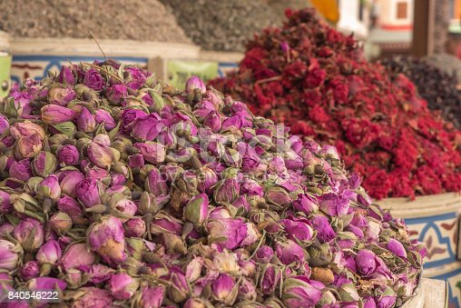 istock A mountain of dried flowers. 840546222