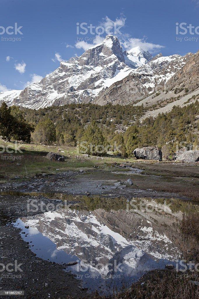 Mountain of Man royalty-free stock photo