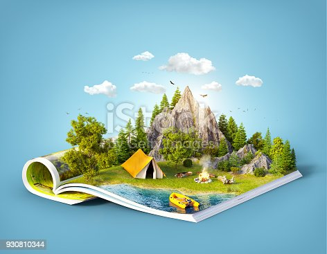 930810564 istock photo Mountain on pages 930810344