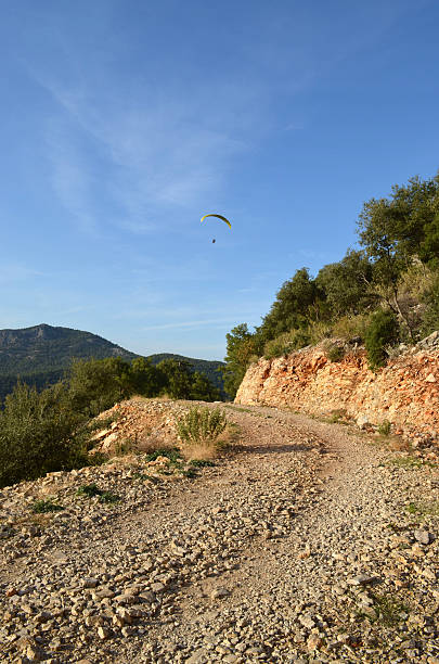 Mountain Path overlooking Oludeniz