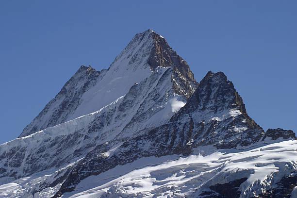 mountain peak stock photo