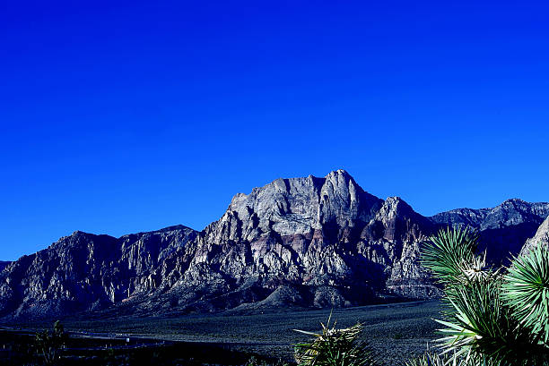 Mountain Peak Red Rock Canyon National Conservation Area, Las Vegas stock photo