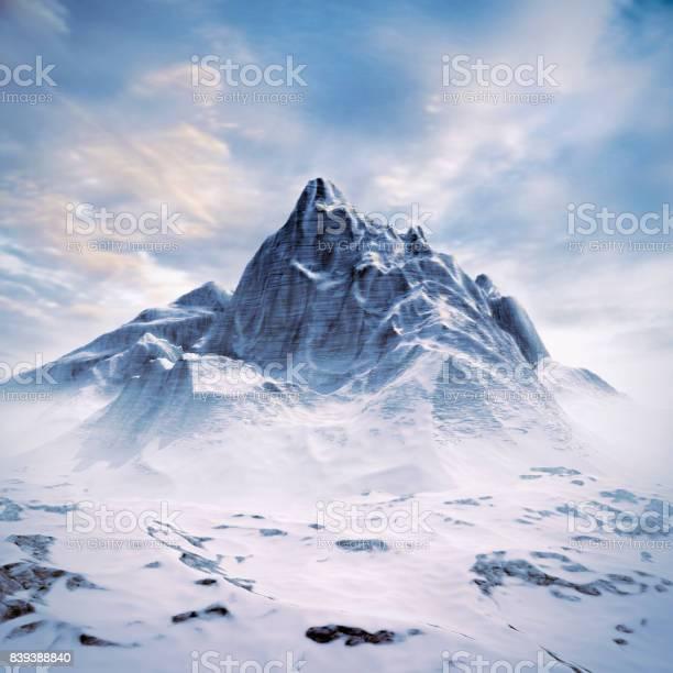 Photo of Mountain peak scene