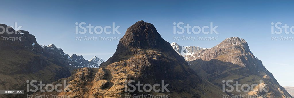 XXXL Mountain peaks royalty-free stock photo