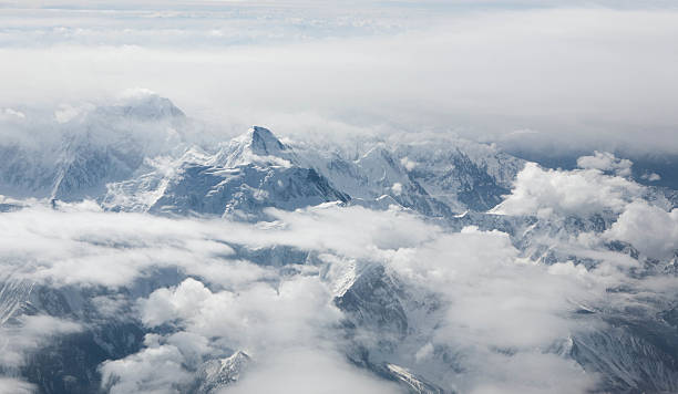 Mountain Peaks stock photo