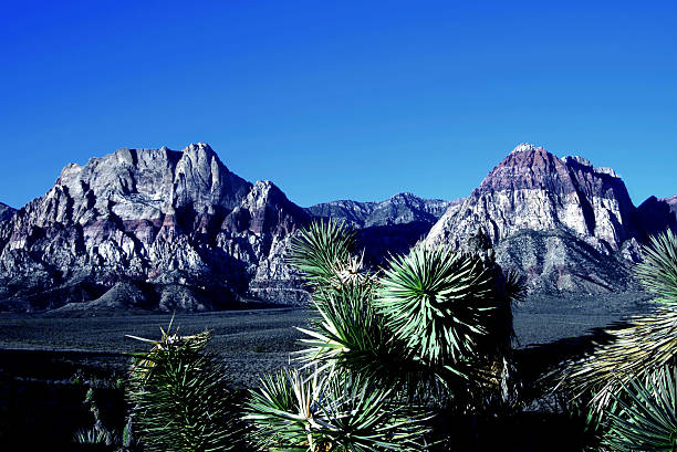 Mountain Peaks Red Rock Canyon National Conservation Area, Las Vegas stock photo