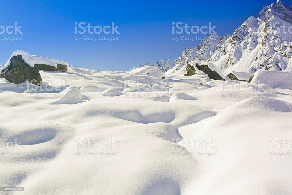 A las montañas foto de stock libre de derechos